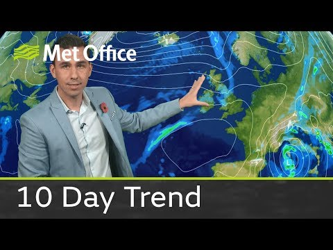 10 Day Trend - Will the cold weather continue?