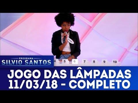 Jogo das Lâmpadas - Completo | Programa Silvio Santos (11/03/18)