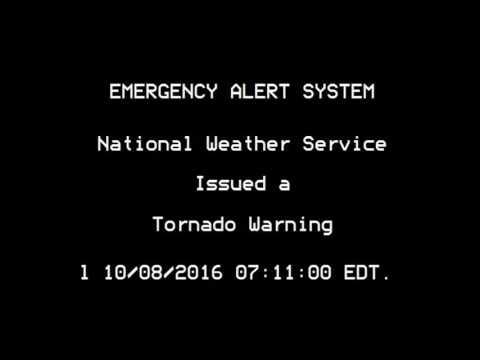 Tornado Warning: Wilmington, North Carolina