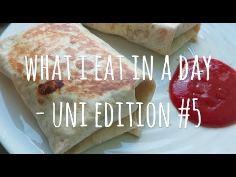 WHAT I EAT IN A DAY – UNI EDITION #5 || 100% VEGAN & FALAFEL RECIPE
