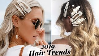 How To Rock Pearl Hair Clip Trend - 2019 Hotttest Hairstyles