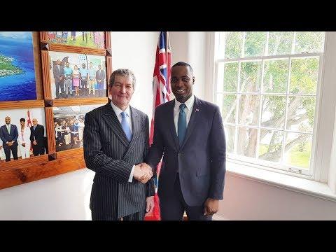 Perspectives from the top : Hon David Burt, Premier of Bermuda