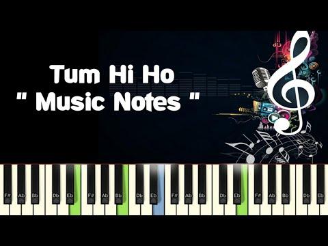 Tum Hi Ho (Aashiqui 2) Piano,Guitar, Saxophone, Voilin Notes /Midi Files /Karaoke Tracks