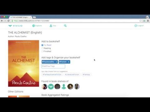 Adding books to your Vivilio profile