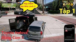 GTA 5 Chạy Grab #1 Tài Xế Toyota Indova Dũng cảm Giải cướp Em Gái Bị '' Hấp Diêm '' Giữa Ban Ngày !!