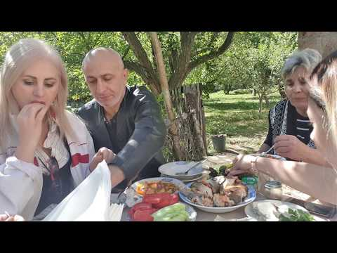 Мукбанг. 묵방.Обед  в селе.Армения .MukbangLunch In The Village. Armenia