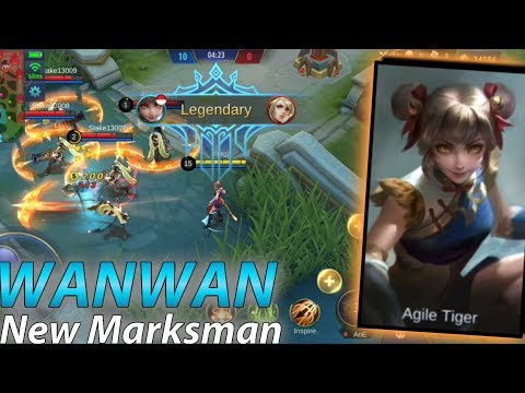 New Hero Wanwan Marksman OP Paling Lincah - Mobile Legends