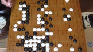 梶原武雄vs 工藤紀夫六段(先番) 第12期王座戦 MR囲碁815