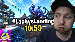 JE FAIS MON RECORD SUR LA MAP #LachysLanding 10:59 !! Fortnite Créative Mode