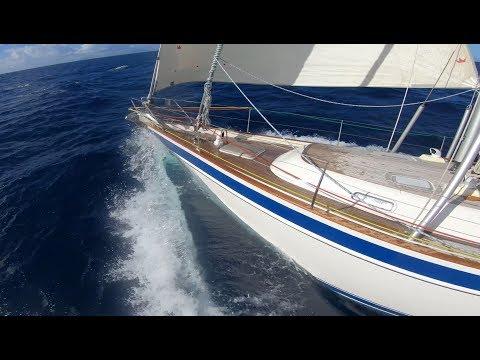 Sailing Montserrat - HR54 Cloudy Bay, Dec 2018