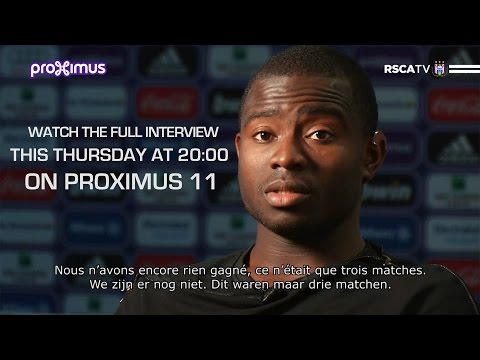 Frank Acheampong exclusive on Proximus TV