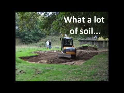 Basing House 2014 - Archaeological excavation and survey - In-filling
