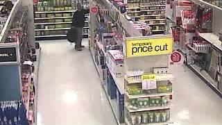 Shoplifter at Target gets taken down
