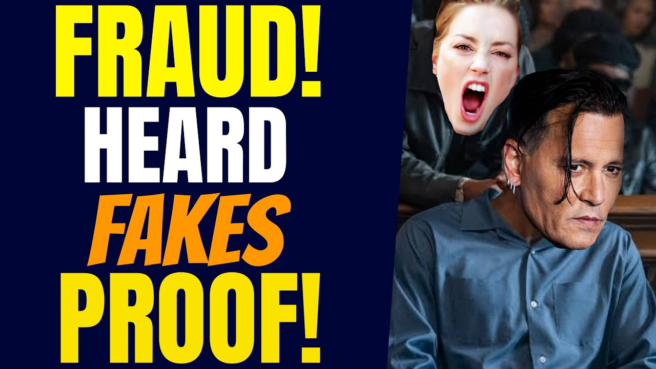 Download Johnny Depp PROVES AMBER HEARD Is A FRAUD By Showing Her Evidence Is Fake | The Gossipy
