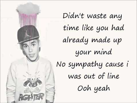 Justin Bieber Bad Day LYRICS
