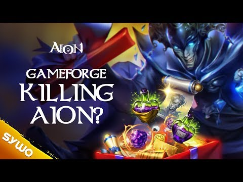 Is GAMEFORGE Killing AION's Relaunch in 2018??
