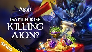 Is GAMEFORGE Killing AION