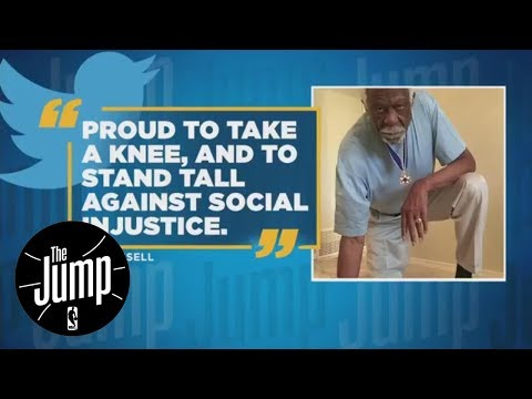 Bill Russell takes knee to fight social injustice | The Jump | ESPN