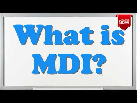 What is the full form of MDI?