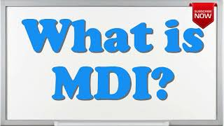 What is the full form of MDI? - YouTube