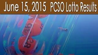PCSO Lotto Results June 15, 2015 (6/55, 6/45, 4D, Swertres & EZ2)