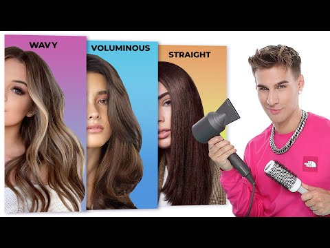 How To Blowout Your Hair Like a Pro - YouTube