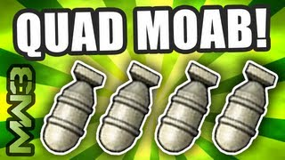 MW3 - QUAD MOAB Gameplay! World