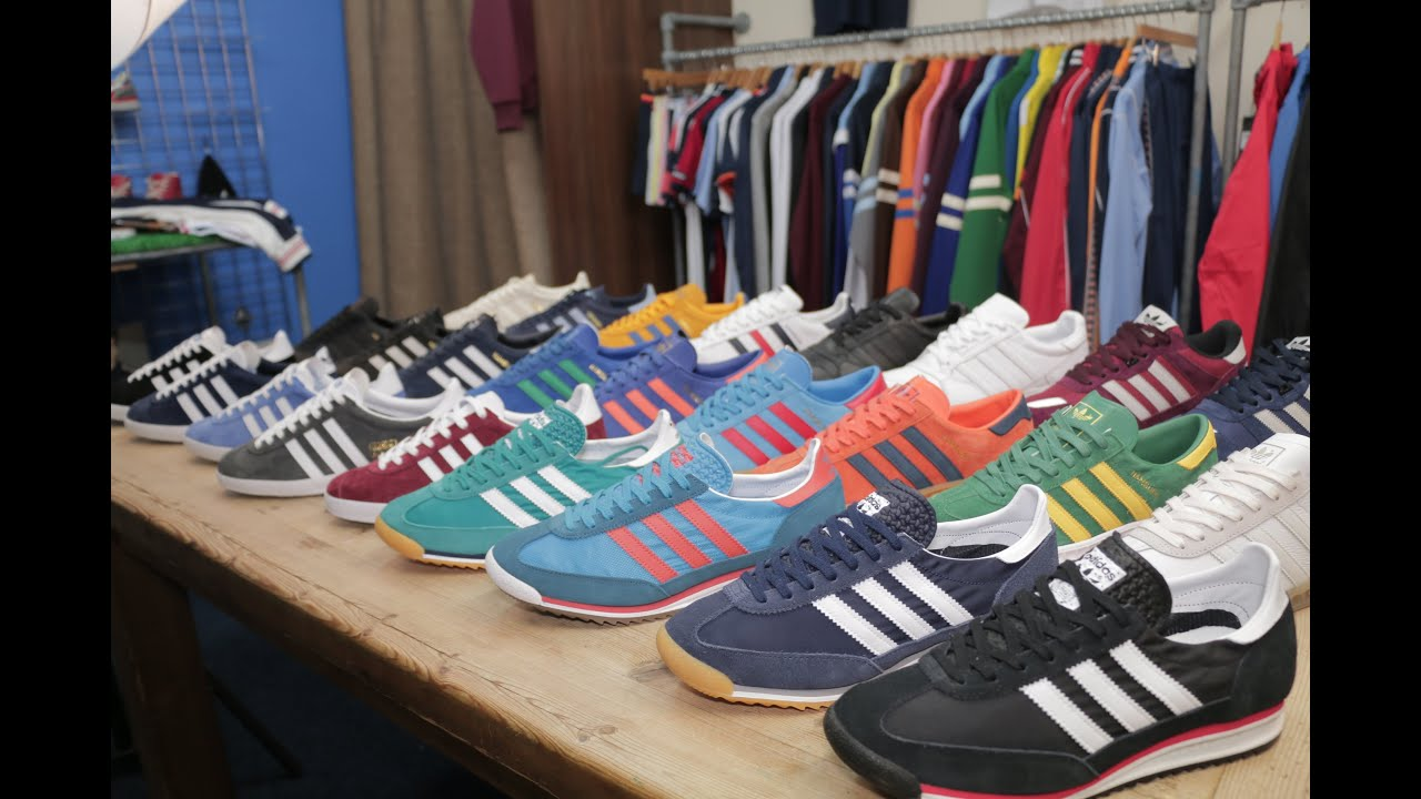 adidas trainer collection