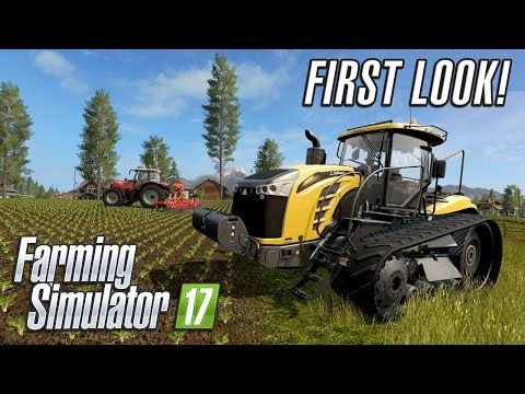 Farming Simulator 2017 | First Look Gameplay