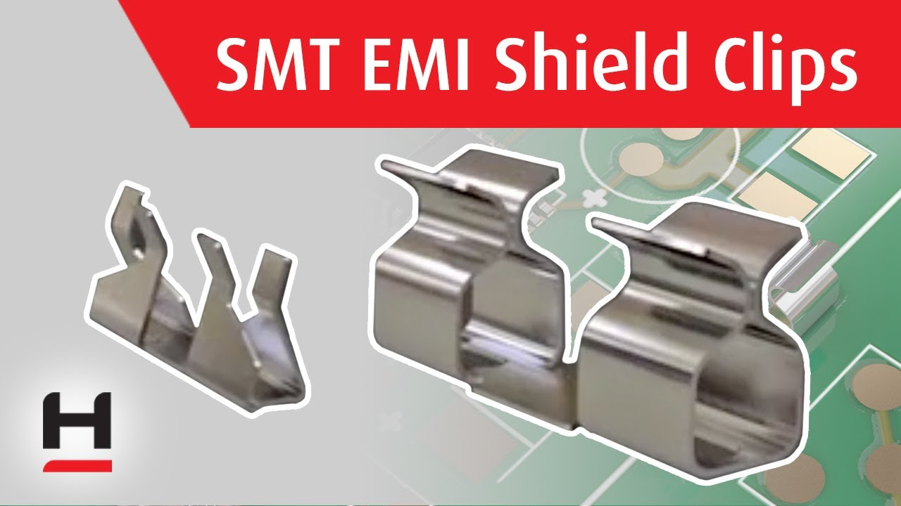 Youtube video for SMT EMI Shield Clips