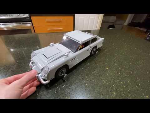 Lego 10262 James Bond Aston Martin DB5 Review