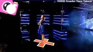 Niña Venezolana  impresiona al jurado de Ecuador tiene Talento