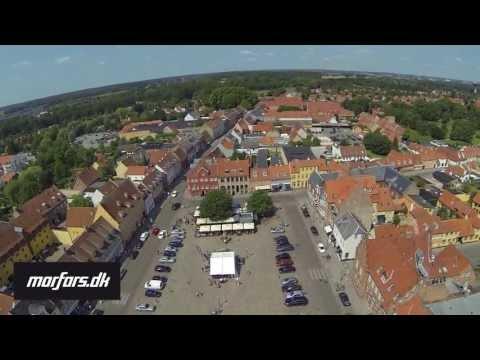 DJI Phantom på Køge Torv (1080p)
