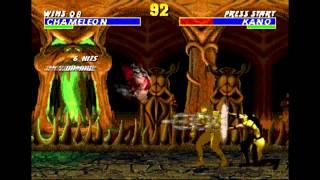 GEN Ultimate Mortal Kombat Trilogy HACK Chameleon TAS HD