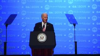 Vice President Joe Biden JFNA GA Plenary Speech Excerpt