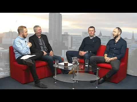 Sheffield Live TV Jon Newsome & Rob Staton 4.1.18 Part 2