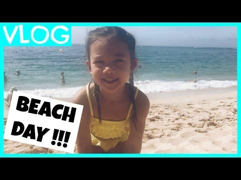 BEACH DAY WITH #teamBachdim