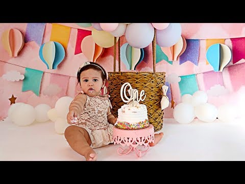 ALAÏA'S OFFICIAL BIRTHDAY PHOTOSHOOT!!! **ADORABLE**