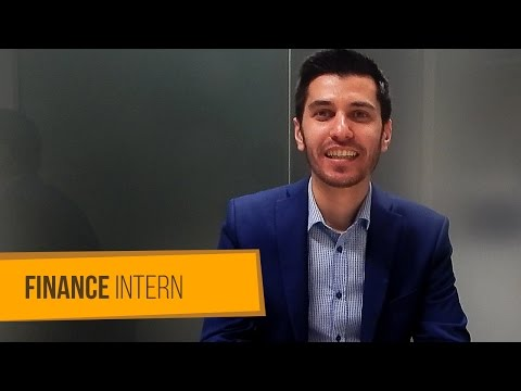 Intern Story: Giorgi Chagoshvili's internship in Finance