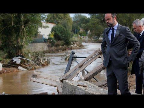 Aude avalia amplitude de inundações mortíferas