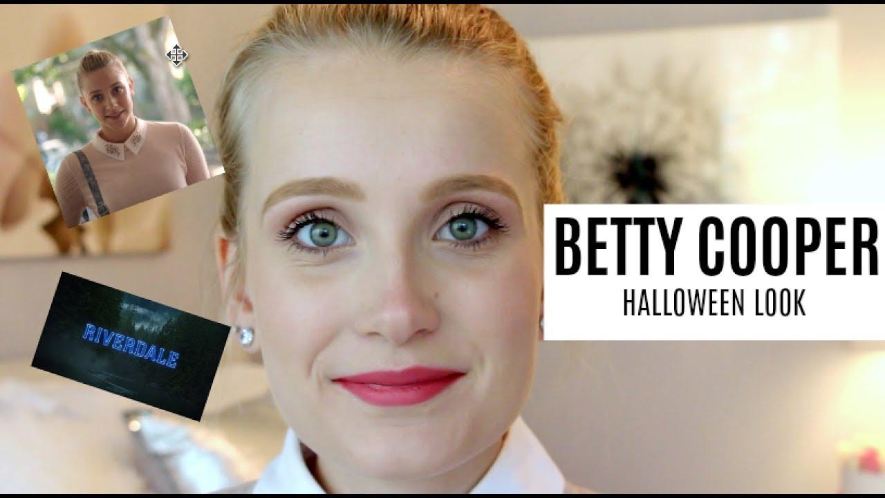 Betty Cooper Riverdale Halloween Illbringthelipstick Youtube