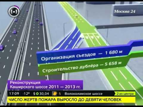 Реконструкция Каширского шоссе