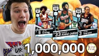 MOST EPIC 1 MILLION MT WAGER EVER!! NBA 2K17