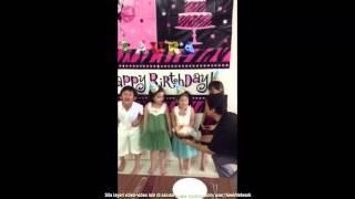 Engku Aleesya Erra Fazira At Laura Birthday - Qasih Pun Ada