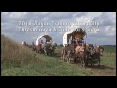 Wagon Train in Albert City, Iowa