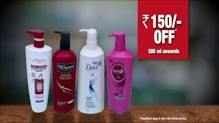 Great offer on Shampoo only at #TheBaahubaliSale
