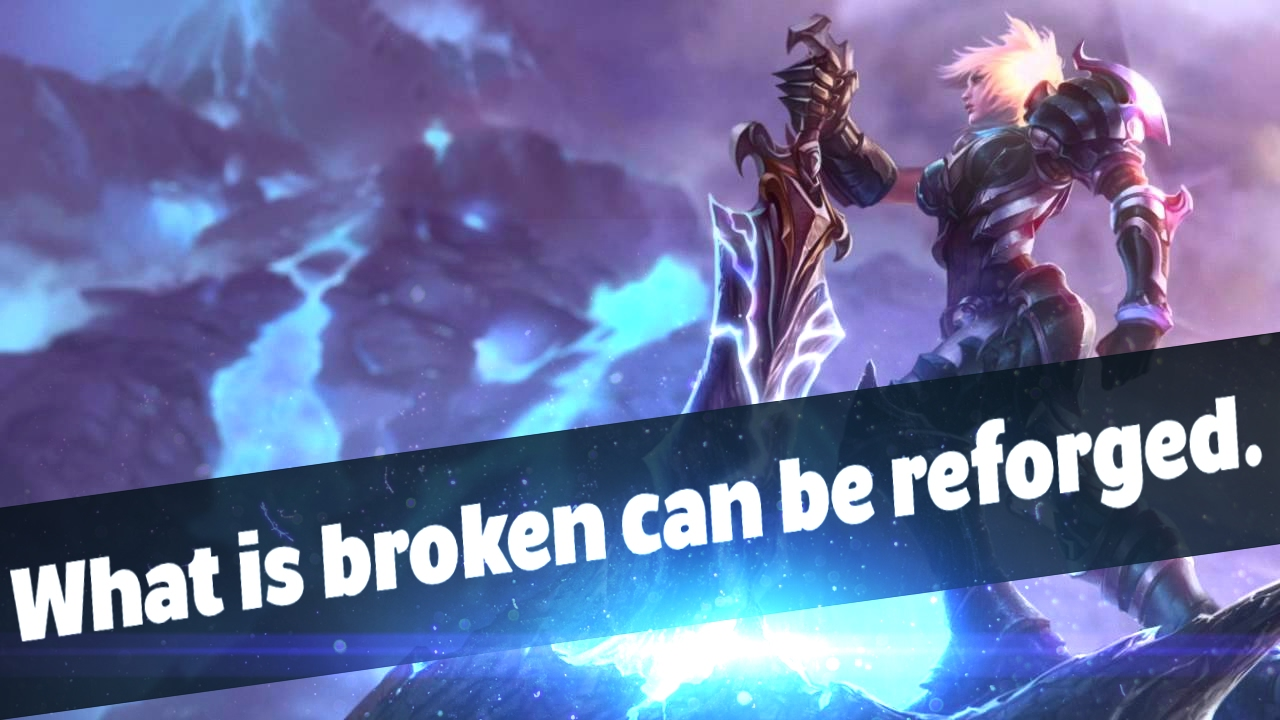 What is broken