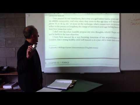 Lesson 18:  A Modest Proposal--Diction & Tone