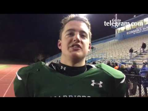 Nipmuc captain Max Hubley talks about the Warriors dominant defensive performance