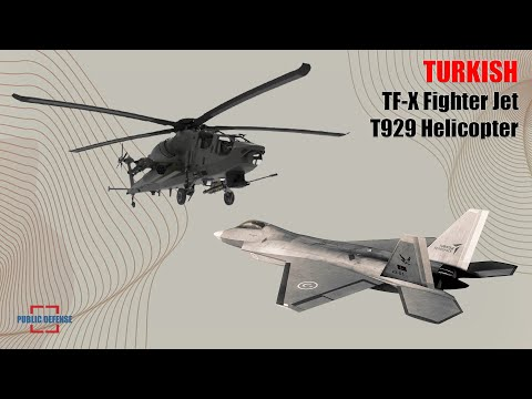Turkey Revealed the Price of the TF-X Fighter Jets and Engines to be Used on the T929 Helicopter